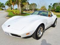 Superb 73 Corvette Stingray 454 Big Block 4-Speed --