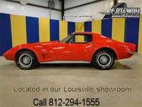 1973 Chevrolet Corvette Stingray with gorgeous bright