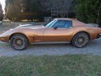5,000 Miles on this rare Gold and Black Stingray in Top
