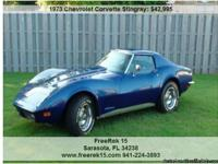 1973 Chevrolet Corvette Stingray , 60,000
