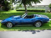 1973 Chevrolet Corvette Stingray in Excellent Condition