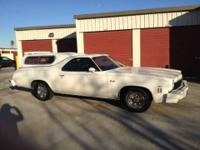 This El Camino is in Excellent condition and completely