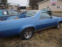 This 1973 Chevy ElCamino is a North Dakota Car. The