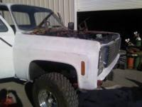 1973 chevy front end complete fenders and grill..... 75