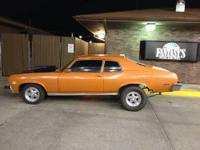 1973 Chevy Nova 2 door. I just put built v-8 350 in