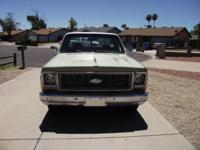 i have for sale my 1973 c10 p/u. i have rebuilt the 350