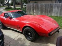1973 Corvette 383 Stroker Engine - Not Original - 650