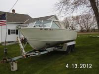 REDUCED 1973 Crestliner-Norseman 19' deep-V aluminum