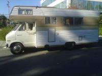 1973 Dodge tioga motorhome not perfect needs work But