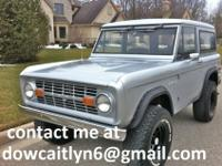 1973 Ford Bronco recently restored. All metal has been