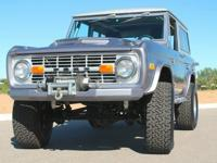 This is a very nice Classic Bronco that has been