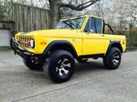 I'm selling my 1973 ford bronco sport, runs and drives,