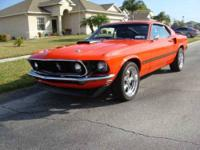 This 1973 Mustang Mach 1 Fastback is one limited number