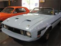 1973 FORD MUSTANG CONVERTIBLE. TOTAL FRAME UP