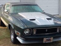 1973 Ford Mustang Fastback. 351 Cleveland 2 Barrel