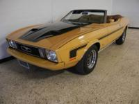1973 Ford Mustang Convertible. 302 V8 engine, automatic