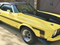 For sale is this incredible fully loaded 1973 Mustang