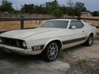 1973 mustang Mach 1 good solid vehicle needs some