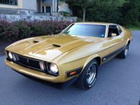 You are viewing my 1973 Mustang Mach 1, Q-code with a