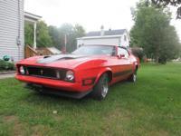 Mach 1, 351 Cleveland, Pony rims, 6 speed transmission