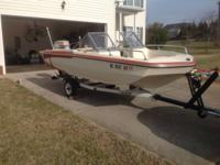 1973 Glastron- 15.5 Feet, 85 HP Evinrude Engine. 2nd