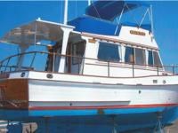 This 1973 Grand Banks Classic 32 is set up for