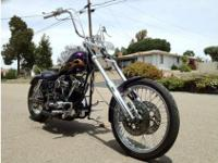 1973 Harley-Davidson Custom, This bike is signed up
