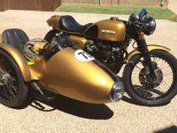 1973 HONDA CB500 Four Cafe Racer with Sidecar-Year :