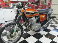 One owner 1973 Honda CB 750. Original, Original,