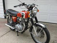 1973 Honda cl 3504/5 restored waiting for somebody to