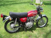 I have a nice 1973 Honda cl350 scrambler for sale. Very