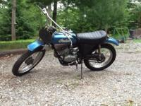 1973 Indian ME74 Dirt Bike Great Restoration Project It