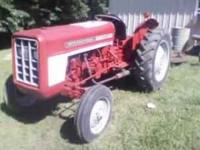 International harvester tracor. Recently painted. Runs