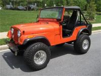 This is a Jeep CJ for sale by Flemings Ultimate Garage.
