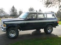 "1973 Jeep Wagoneer, ""the original SUV"", LOW miles"