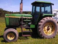1973 JOHN DEERE 4430, Heat/Air, excellent tires. Runs