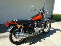 Super rare 1972 built Kawasaki Z1. This is one of only