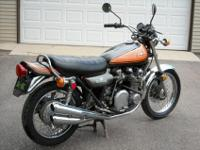 1973 Kawasaki Z1 900 matching number survivor bike.