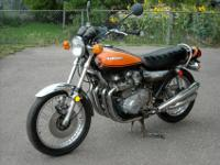 Up for sale is a first year 1973 Kawasaki Z1 900