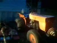 1973 Kubota Tractor with bush hog, blades and disks.