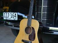 This is a good, well utilized 1973 Martin D-18 with a