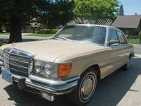 Personal Mercedes 450SEL with 157,835 original miles.
