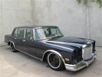 1973 Mercedes Benz 600 Here is a 1973 Mercedes 600, Has