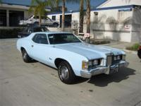 1973 Mercury cougar. New gloss blue paint. New interior