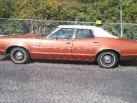 1973 Mercury Montego Hard Top Sedan. 1 Family Owned