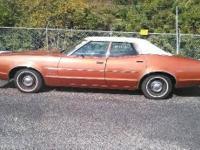 1973 Mercury Montego Hard Top Sedan. 1 Family Owned