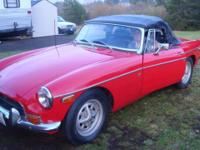 Enjoy this recovered MGB now. Vacating state and have