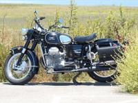 Moto Guzzi 1973 Eldorado Police bike restored in 2008.