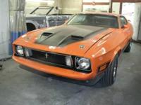 In 2009, I bought this 73 Mach 1. I have invested 4