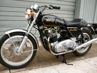 The bike had been serviced and prepared for the sale.